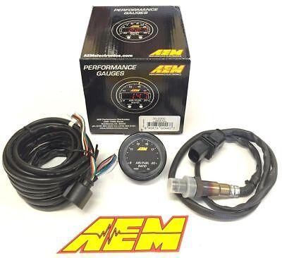 GENUINE AEM 30-0300 X-Series Wideband Gauge AFR O2 Air Fuel Ratio 2 1/16