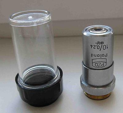 Pzo Achromat Objective 10x 024 Microscope Biolar Zeiss