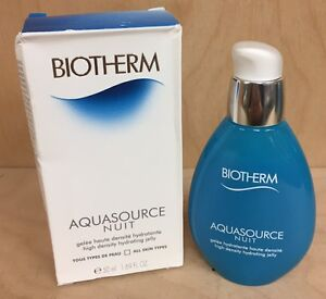 Aquasource by Biotherm Nuit  / Night High Density Hydrating Jelly - 1.69 oz