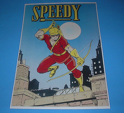 DC COMICS THE NEW TEEN TITANS SPEEDY POSTER PIN UP ()
