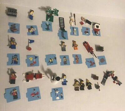 Lego City Advent Calendar 24 days of Christmas Incomplete Set