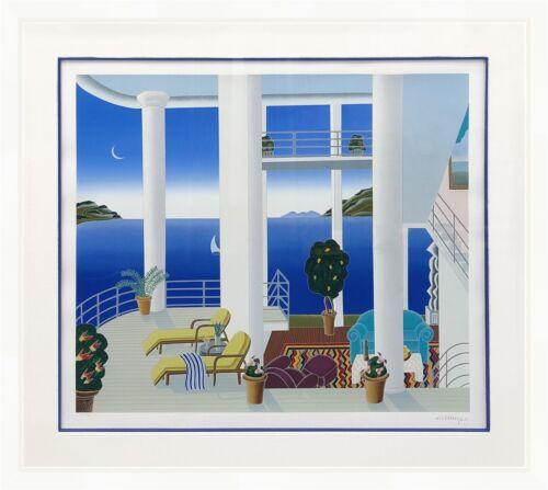 "Thomas Mcknight ""catalina"" 1989 | Large Signed Serigraph | California | Gallart"