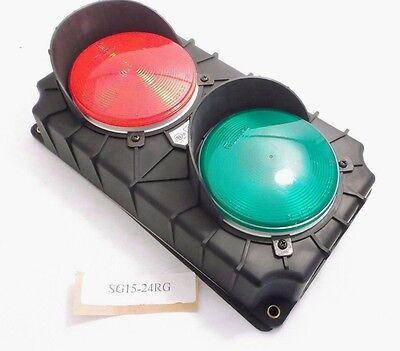 Serco Sg15-24rg Traffic Control Light - Red Green - 24vdc - Prepaid Shipping