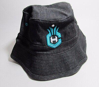 New Hat Mitchell   Ness Bucket Nba Charlotte Hornets Black Size S   M  5