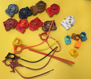 Beyblade Pieces Ripcords, Launchers and rings