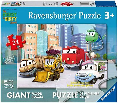 Ravensburger The Stinky and Dirty Show 24 Piece Giant Floor Jigsaw Puzzle 24 Piece Floor Puzzle