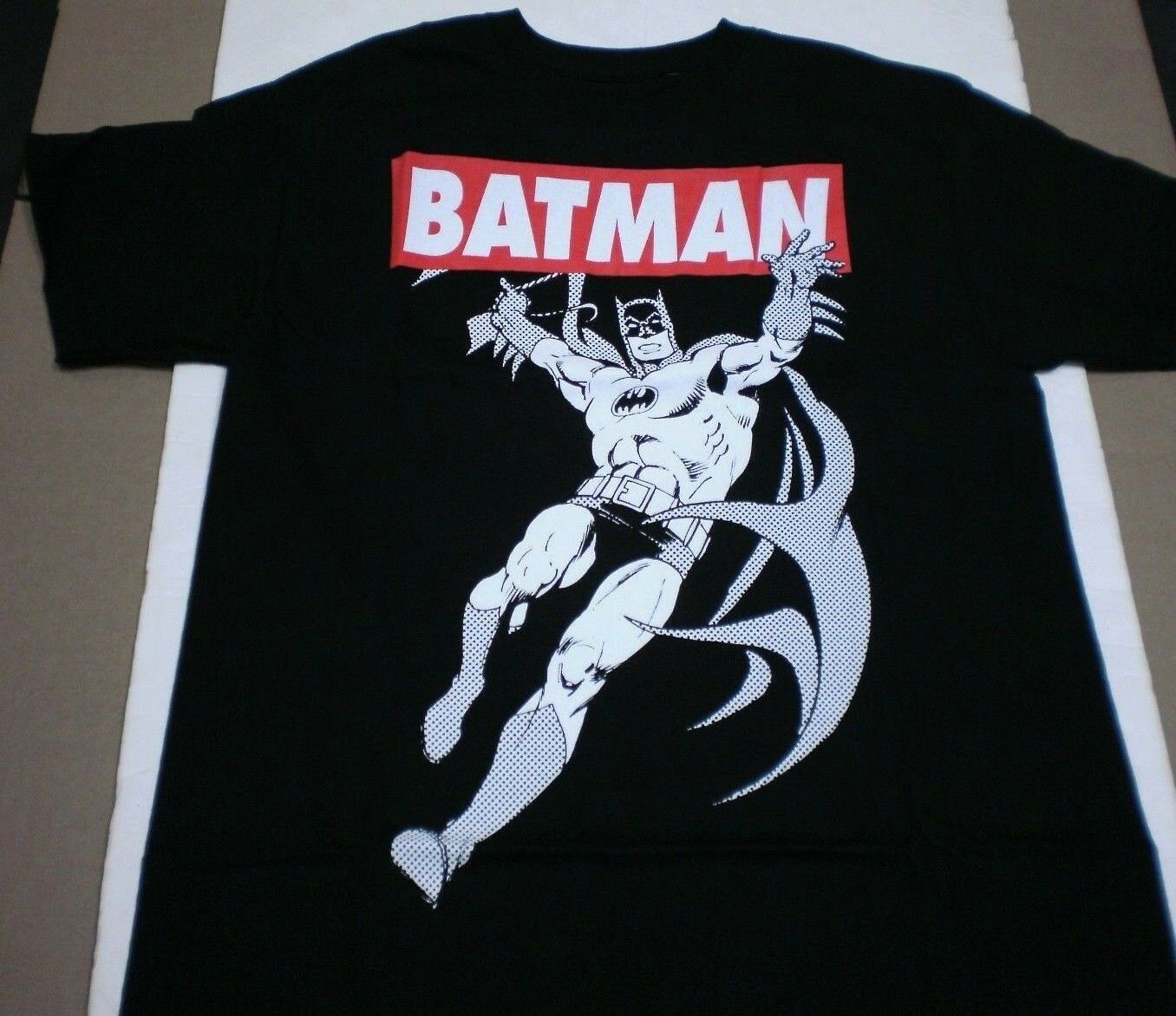Brand New DC Comics Boys Youth Batman Printed Banner Logo Co