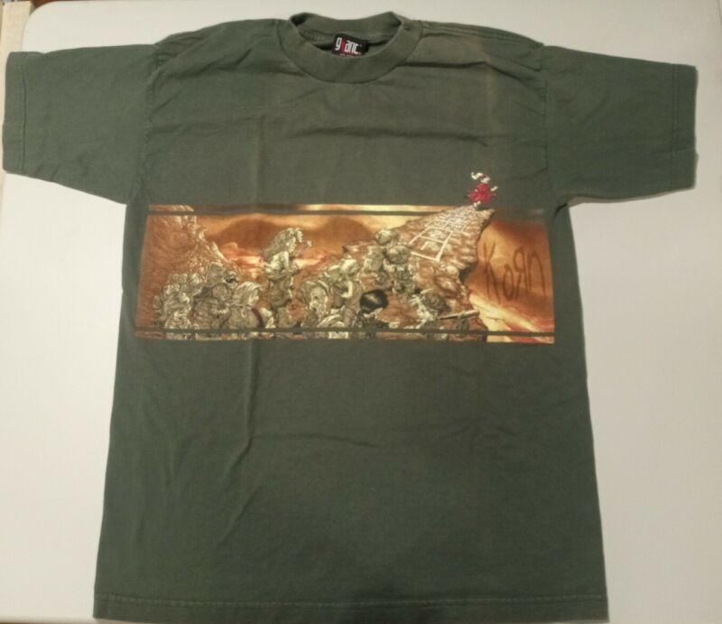 Korn Follow the Leader Vintage Tour Shirt Large