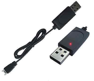 USB PC 3,7V 1s Lipo Akku Ladekabel Ladegerät Charger 2PIN Walkera Stecker RC 5V