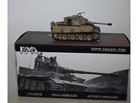 Otto Carius 217 S.pz.abt.502 1944 Tigre I Mid PMA Models 331-1//72 WWII DT