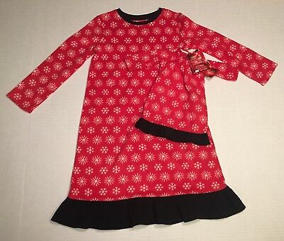 Jammies For Your Families Girls Pajama Gown With Matching Doll Gown Size 4T New](Matching Jammies For Family)