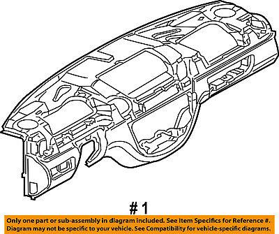 Dodge CHRYSLER OEM 03-06 Sprinter 2500 Instrument Panel-Dash 5122362AA