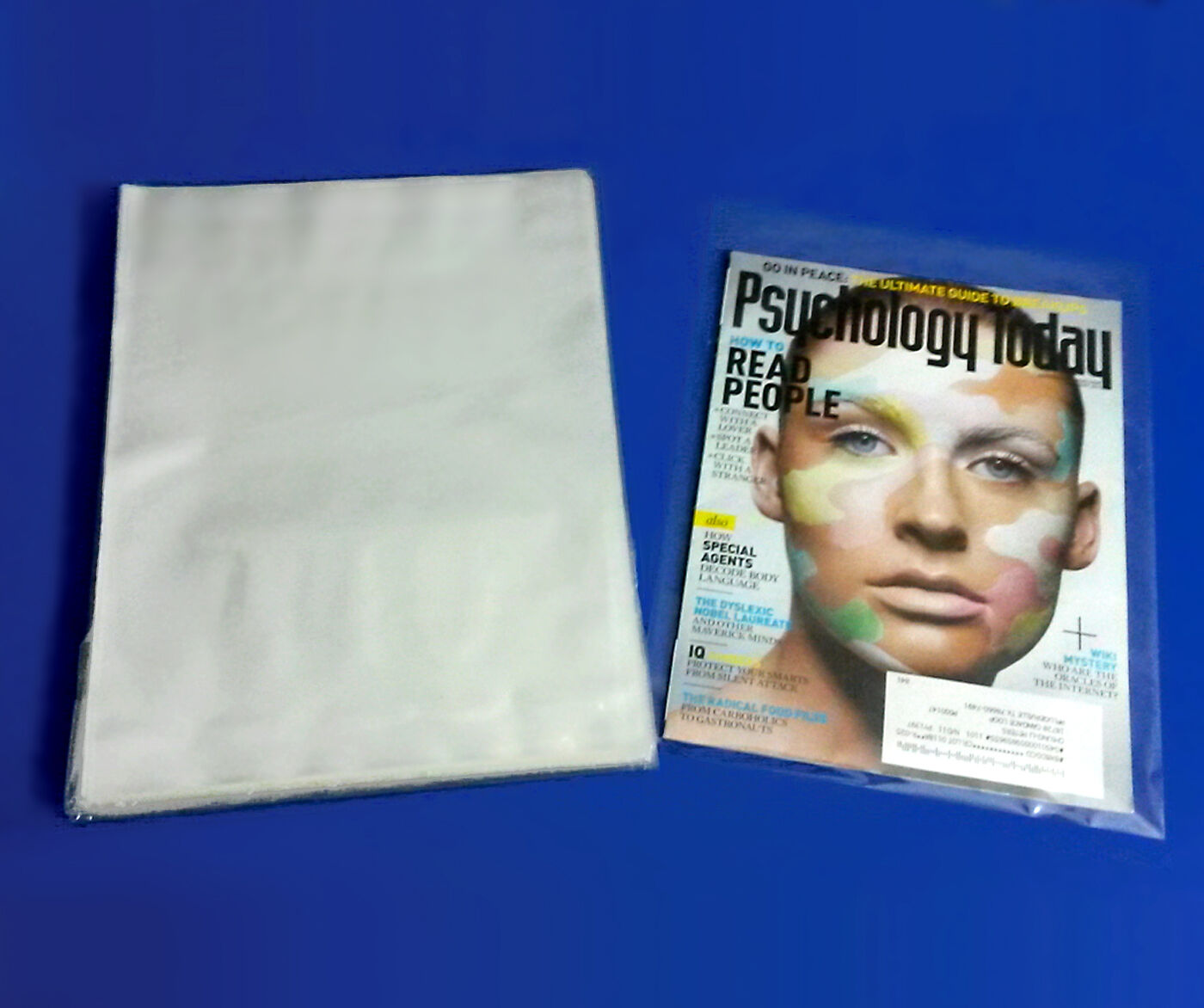 Clear 100 200 500 1000 Poly Bags Open-Top 1Mil Flat Baggies LLD Plastic Ml ""