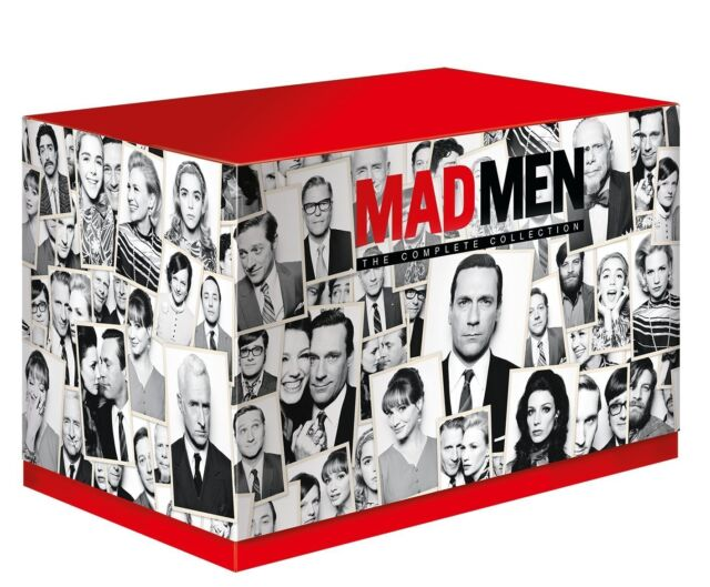 """MAD MEN COMPLETE SERIES COLLECTION 1-7 BOX SET 24 DISCS """"NEW&SEALED"""""""