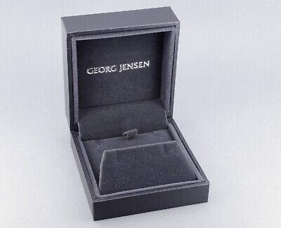 Georg Jensen Vintage Jewellery Box for Earrings Pendant Cufflinks UNUSED