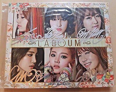 LABOUM all members signed/autographed PETIT MACARON debut album mwave rare
