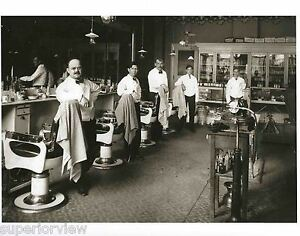 Barber Time : ... Barber-Shop-Old-Time-Barber-Chairs-Tonic-Bottles-Shoe-Shine-Barbers