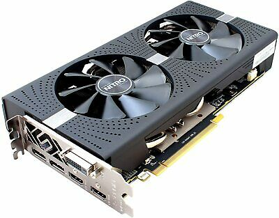 AMD Sapphire NITRO+ Radeon RX 570 4GB GDDR5 Grafikkarte