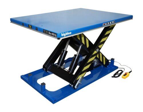 """Bigblue Electric Hydraulic Scissor Lift Table 48""""x68""""x40inch 8000lb 4000kg 110v"""