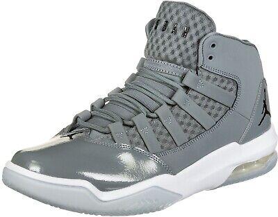 Grey Jordan Basketball Shoes | Size 8 M