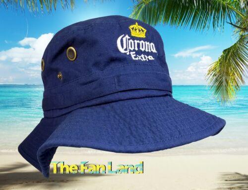 New Corona Extra Beer Boonies Fishing Bucket Cap Hat