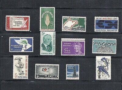 1963 - Commemorative Year Set - US Mint Stamps - LOW PRICES UNTIL SOLD OUT