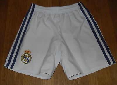 adidas Real Madrid 2016/17 Home Shorts Junior Age 7 - 8 Years