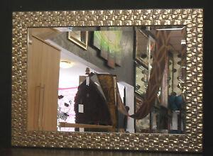 John-Lewis-Wall-Mirror-RRP-150-Wooden-Mosaic-Frame-Antique-Silver-76x106cm-New
