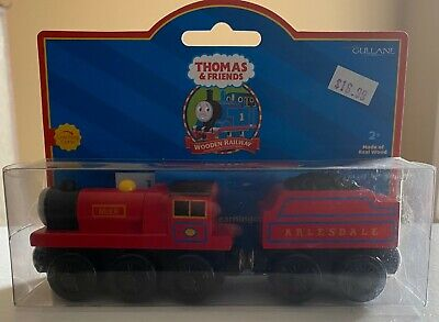 MIKE Thomas Tank Engine & Friends Wooden Railway NEW IN BOX Real Wood Britt 2001