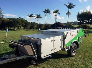 WILD BOAR  CAMPER TRAILER  FORWARD FOLD EX DEMO (LIMITED EDITION) Brendale Pine Rivers Area Preview