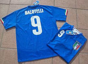 MAGLIA-BALOTELLI-ITALIA-UFFICIALE-adulto-bambino-HOME-MONDIALI-MONDIALE-2014