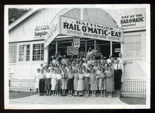 Vintage 1939 Baitinger Rail O