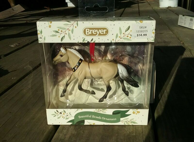 Breyer Christmas Holiday Beautiful Breeds Fjord Ornament NIB