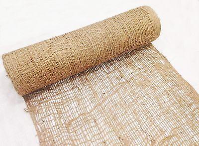 (2) -Jute Netting -4'W x 225'L- Erosion Control Blanket, Erosion Control Matting