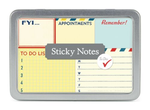 Cavallini & Co. To Do Sticky Notes Set
