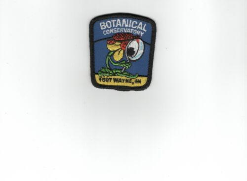 Botanical Conservatory Patch, Fort Wayne, Indiana, Mint, Unused