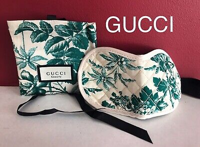 GUCCI BLOOM Eye Mask Accessory Pouch VIP Gift Spring 2019 Brand New SEALED !!