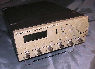 Wavetek Model 75 Arbitrary Waveform Generator W Option 1
