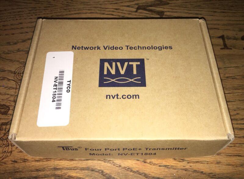 NVT NV-ET1804 TBus PoE+ Transmitter