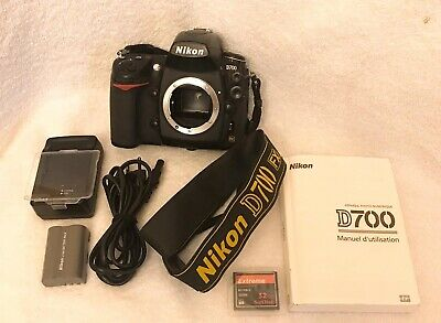 Nikon D700 12.1MP Digital SLR Camera - Black (Body Only)