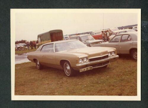 Vintage Color Photo 1972 CHEVROLET Chevy Impala Custom Hardtop Car 424019