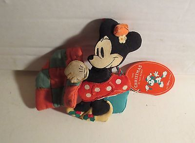 Disney Minnie Mouse  Christmas Ornament New With Tags