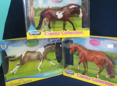 Breyer HORSEs 3 Classics - Save $$  Pintos,  NEW IN BOX