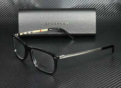 BURBERRY BE2282 3001 Black Demo Lens 55 mm Men's (Burberry Eyeglasses Men)