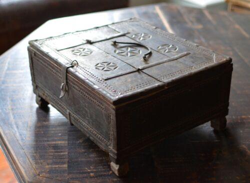 18th century Spanish Moorish documents box - haute epoque - decorative antique