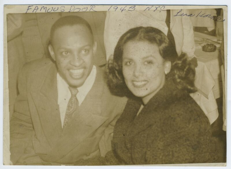 Lena HORNE, Lionel HAMPTON (Jazz) & Max BAER (Boxing): Two Photographs