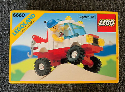 LEGO Vintage 6660 Hook Haul Wrecker 1989 New Sealed Box City 90's NOS