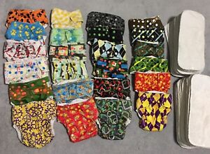 Cloth Diapers (Glow Bug) Everything you need
