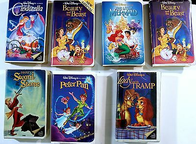 DISNEY DIAMOND EDITION LITTLE MERMAID-2-BEAUTY & THE BEAST-PETER PAN-SWORD & STO
