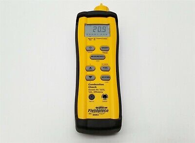 Fieldpiece Sox3 Standalone Hvacr Hvac-r Combustion Check Excess Air Co2 O2